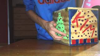 Simple Wooden Puzzle Box