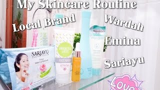 My Skincare Routine Local Brand (Wardah, Emina dan Sariayu)