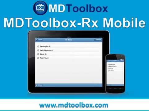 MDToolbox Rx Mobile