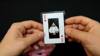 Пластиковые карты Hoyle Clear - обзор(Необычные пластиковые прозрачные карты Hoyle. Купить пластиковые игральные карты можно здесь https://krutygolov.com.ua/pr..., 2016-11-07T18:42:37.000Z)