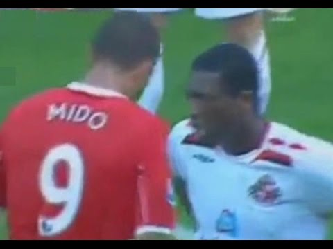 Middlesbrough v Sunderland 2007-08 CATTERMOLE LEADBITTER FIGHT