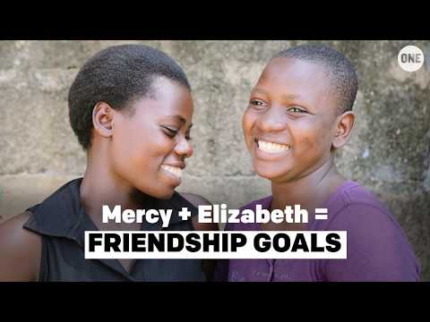 Elizabeth and Mercy = FRIENDSHIP GOALS // The ONE Campaign