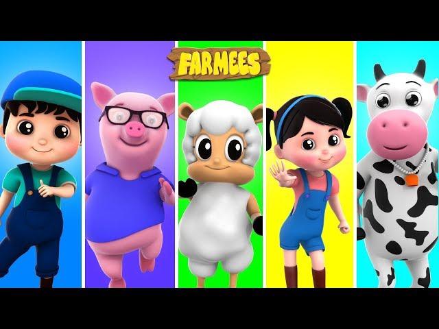 Color Song | Kindergarten Nursery Rhymes For Children by Farmees