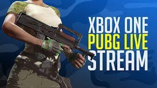 PUBG Xbox One X LIVE!