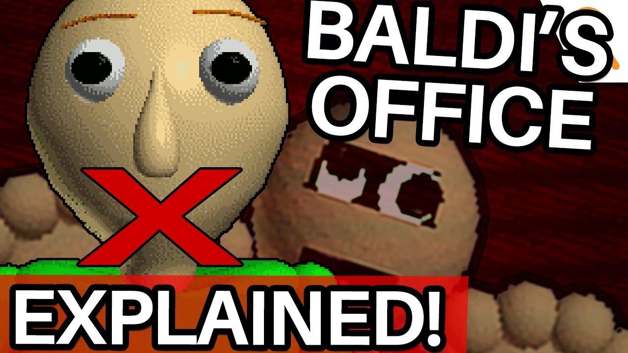 Baldi's HIDDEN ENDING, Explained! (Baldi's Basics in Education and Learning Theory - NEW U