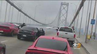 Northern CA Bridge Shut Down By Street Stunt 'Sideshow'