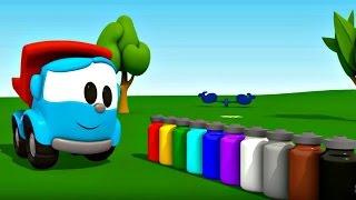 Leo Junior bize renkleri öğretiyor - Elma ağacı - Eğitici çizgi film