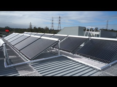 The Glen Hotel & Suites Brisbane - Apricus solar hot water heating system explained