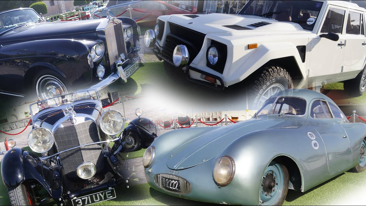 Qatar Concours D\'elegance classic old cars show 2016 - YouTube