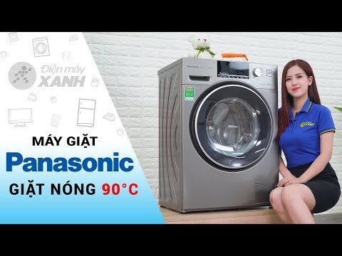 Máy Giặt Panasonic: Giặt Nước Nóng, Giặt Nhanh 49 Phút (NA-128VX6LV2) | Điện Máy XANH