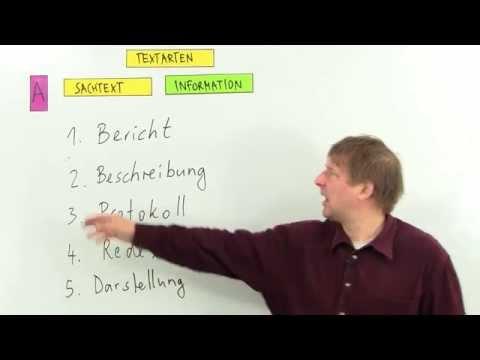 Textarten-Sachtexte: Information | Deutsch | Aufsatz
