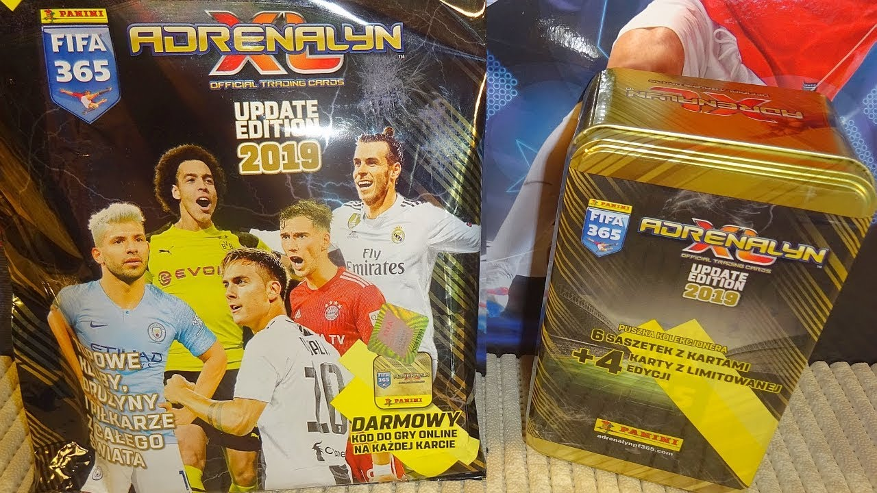 FIFA 365 2019 UPDATE LIMITED ADRENALYN XL PANINI LIMITED SET 38 CARDS
