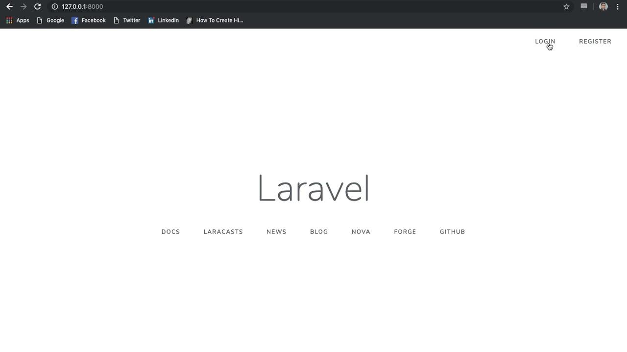 Laravel Login And Registration Tutorial Example (Logout Forgot Password)