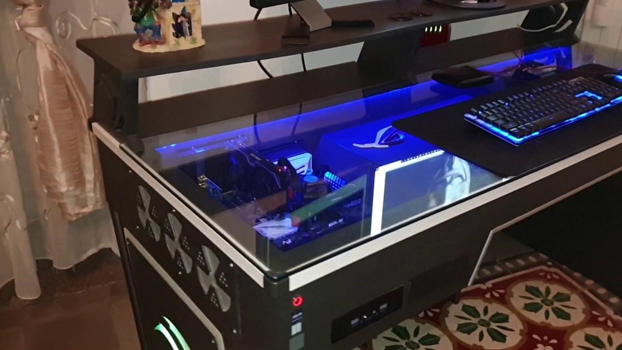 Mini Cassettiera Fai Da Te pc scrivania fai da te ( pc in a desk diy)