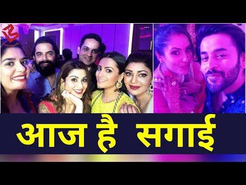 Inside TV actor Puja Banerjee and Kunal Verma's Engagement