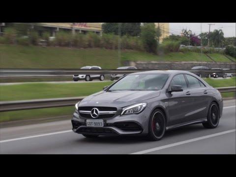 Mercedes CLa 45 AMG - Avaliação - Falando de Carro