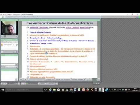 Lec045 La Unidad Didáctica. Programación de aula (LOMCE) (I)  (umh2634 2016-17)
