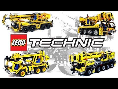 LEGO Technic Cranes – ПЯТЬ ЛЕГО Техник кранов – какой КРУЧЕ?