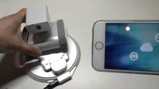 Appbot Link - Unbox, Installation and Demo - Robot Security Surveillance Camera