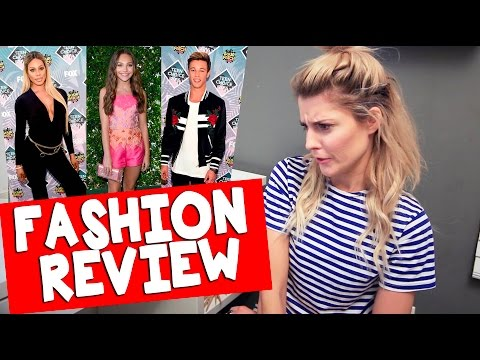 TEEN CHOICE AWARDS FASHION REVIEW 2016 // Grace Helbig