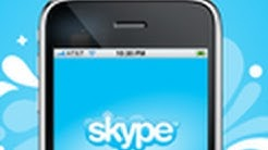 Skype 3.0 Videofunktion für iPhone,iPad & iPod Touch