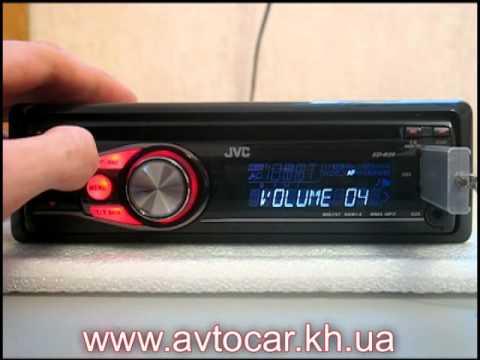 автомагнитолы JVC KD-R35
