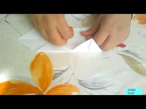 Kalp Şeklinde Kutu Yapımı | Origami