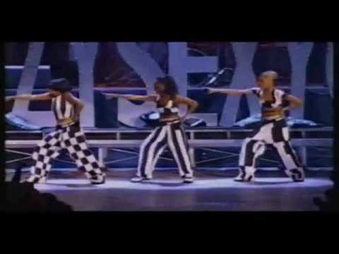 TLC   Crazy Sexy Cool Medley Live At The 1995 MTV VMAs 360p'
