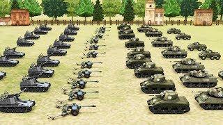 АРТИЛЛЕРИЯ - САМОЕ МОЩНОЕ ОРУЖИЕ! СИМУЛЯТОР ВТОРОЙ МИРОВОЙ ВОЙНЫ! WORLD WAR 2 BATTLE SUMULATOR!