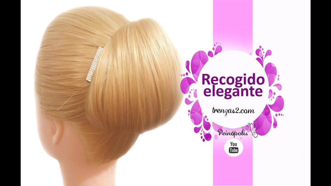 Peinados faciles y rapidos como hacer recogidos sencillos - Peinados faciles y rapidos paso a paso ...