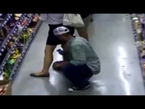 Watch: Man caught taking pics up woman's skirt! thumbnail