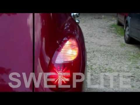 Sweeplite Led Sequential Turn Signal On 2006 Pt Cruiser Tail Lights