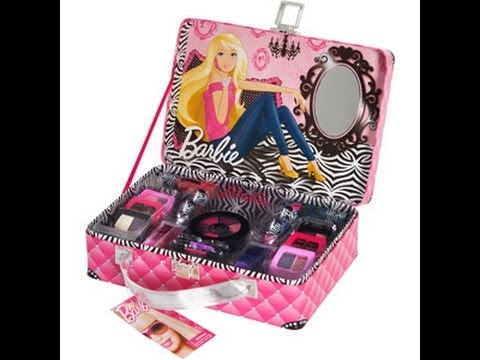 Barbie review Luxe Life Makeup Kit - YouTube