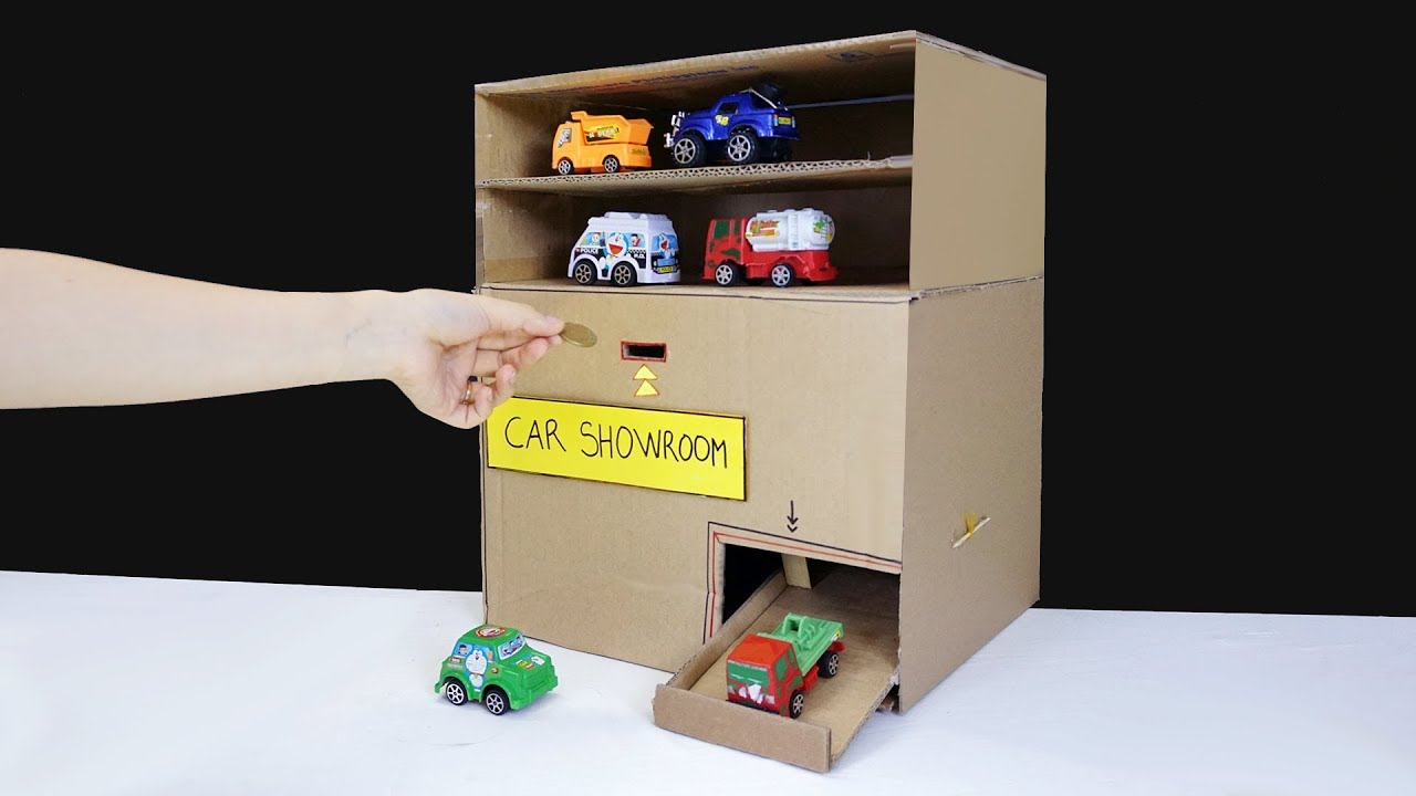 Download How to Make Car Vending Machine from Cardboard - Toy Cars