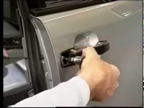 устройство замка передней двери мерседес 202