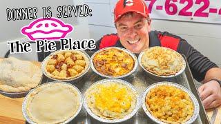 Savory Pie Eating Challenge in Joplin, Missouri w/ Dessert Pies Too!!