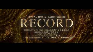 RECORD Harf Cheema (TRAILER) Deep Jandu