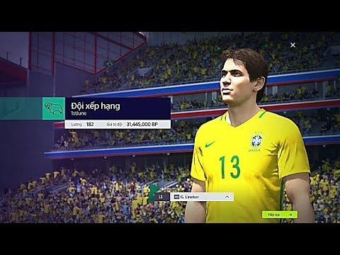 """FIFA ONLINE 4: XẾP HẠNG FO4 LẦN ĐẦU TIÊN VỚI """" GÃ SÁT THỦ """"Gary Lineker NHD #1 - Shoptaycam.com"""