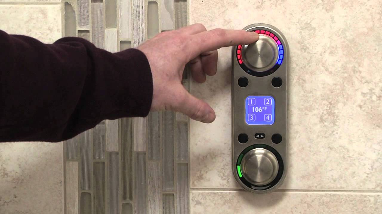 Moen Digital Shower System - YouTube