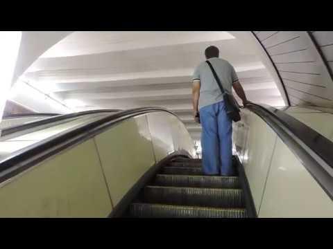 Москва Вестибюль метро Красные Ворота - 28 июля 2014