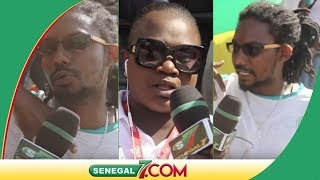 Pape sidy Fall et Thioro ndiaye de la Tfm  très contents de l'équipe national du senegal