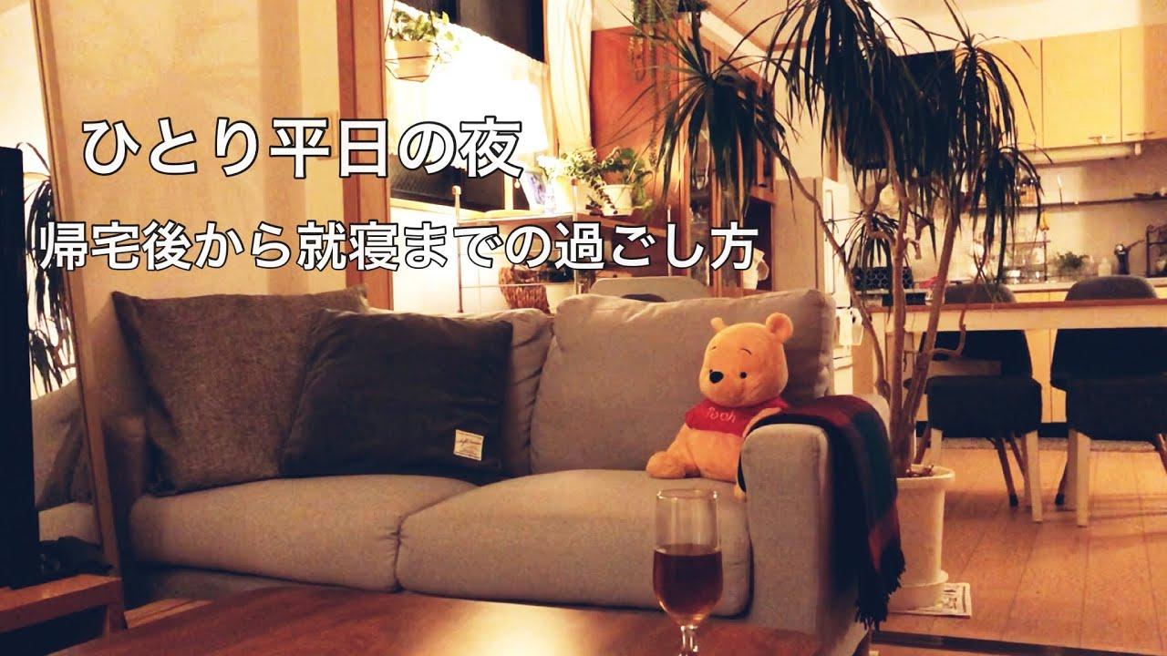 【平日】40代フルタイム帰宅後の夜の過ごし方 / ひとり分の料理 / のんびり家時間