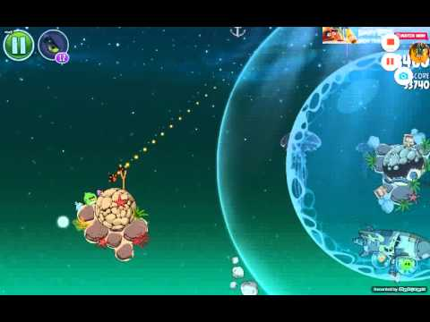 Angry birds space all bosses