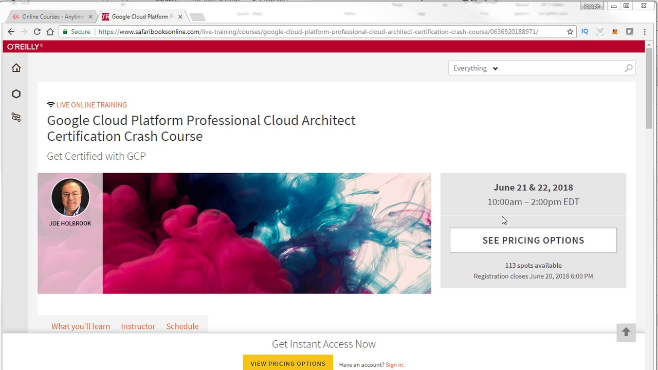 Google Cloud Platform Professional Cloud Architect Certification