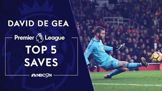 David De Gea39s top 5 Premier League saves  NBC Sports