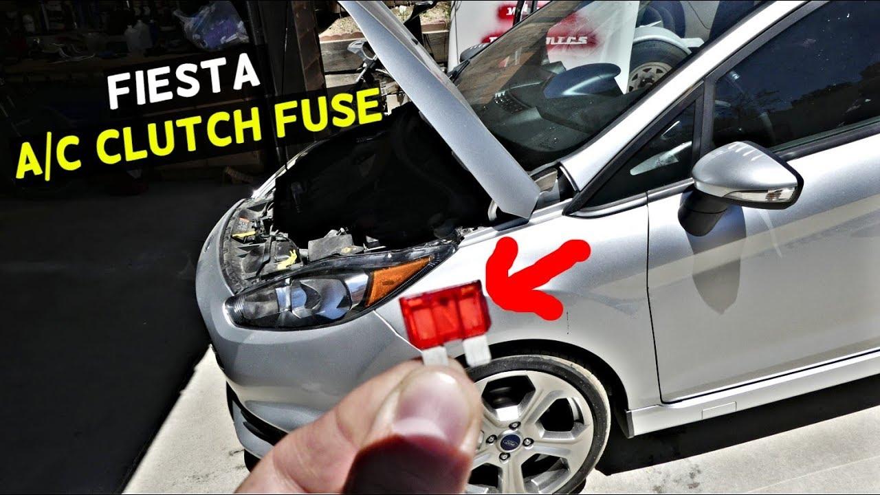 2012 Fusion Fuse Box Ford Fiesta A C Clutch Fuse Air Conditioner Fuse Mk7 St