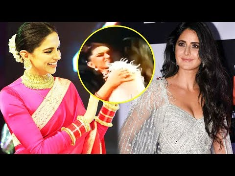Deepika Padukone HUGS Katrina Kaif, Ends FIGHT At Star Screen Awards 2018