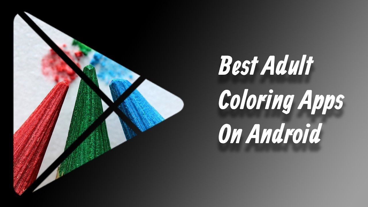 Best Adult Coloring Apps On Android Youtube