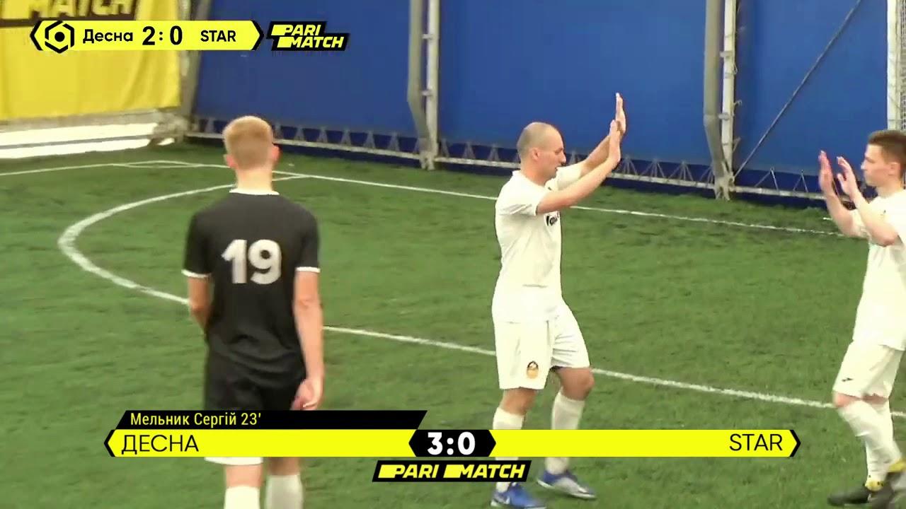 Огляд матчу | Десна 3 : 2 STAR