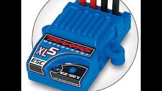 programming the traxxas xl 5 system read description